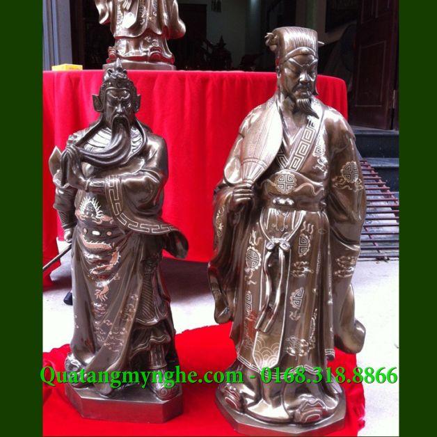 tượng khổng minh, tượng gia cát lượng, tượng quan công, tượng quan vũ, tượng quan vân trường, tượng phong thủy, tượng đồng quan công