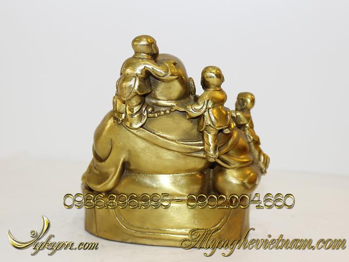 tượng phật di lặc ngũ thử đồng vàng