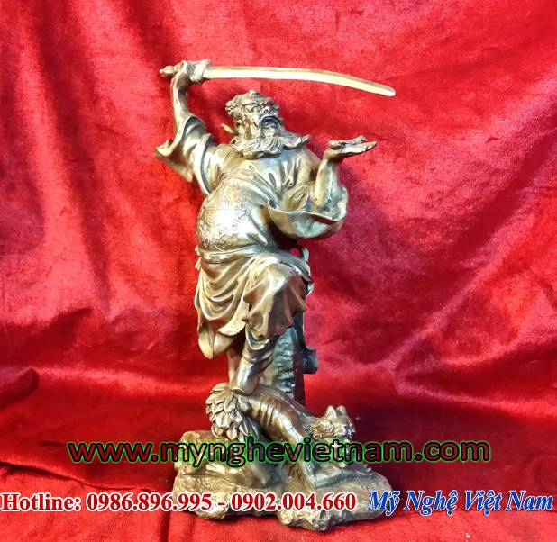 tượng thần chung quỳ bắt ma chấn quỷ