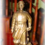 Tượng vua Lê Lợi cao 65cm