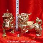 Tỳ hưu đồng 13cm đúc đặc, nơi bán tỳ hưu phong thủy