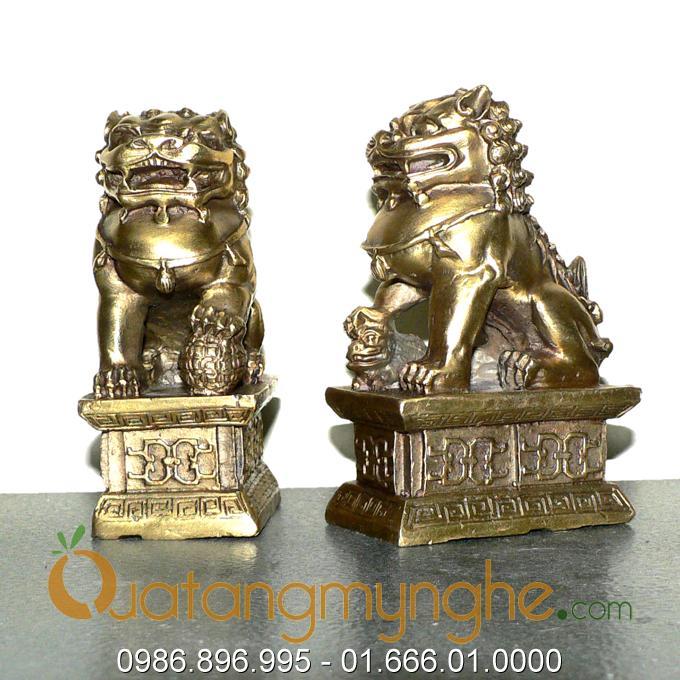 Nghê phong thủy, nghê đồng sư tử, vật phẩm phong thủy chấn trạch nhà0