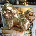 Nghê đồng Phong thủy đúc đặc mẫu cổ đẹp