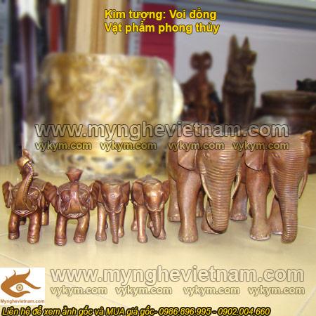 tượng voi đông, kim tượng, tượng voi phong thủy