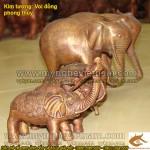 Tượng voi bằng đồng, tượng voi phong thủy