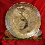 Đĩa đồng 4 cảnh, Văn hóa Hà Nội,quà tặng đĩa đồng lưu niệm