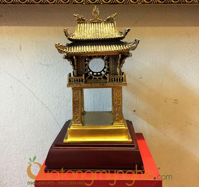 biểu tượng khuê văn các văn miếu hà nội bằng đồng làm quà tặng