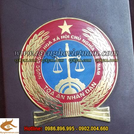 Huy hiệu Tòa Án, Huy hiệu Công An,Huy hiệu Quân Đội,Quốc huy Việt Nam, sản xuất chuyên nghiệp0