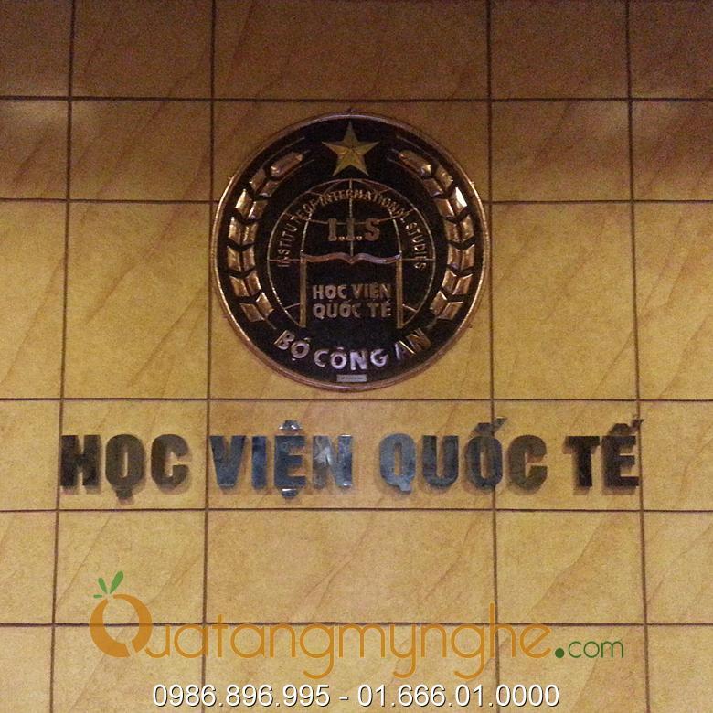 Huy hiệu logo học viện quốc tế bộ công an0