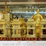 Biểu tượng văn miếu quốc tử giám 15cm mạ vàng