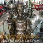 Tượng nguyễn trãi bằng đồng cao 90cm