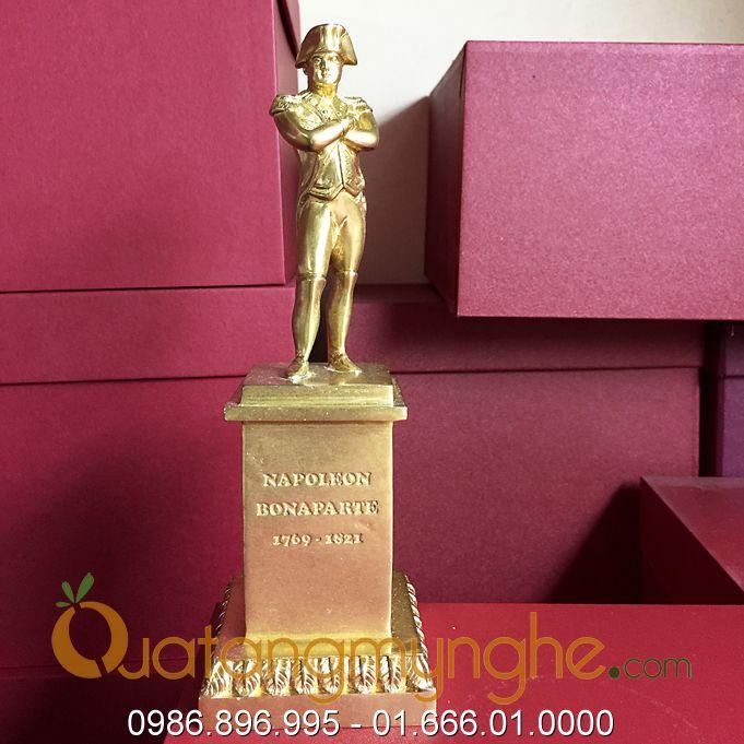 Tượng napoleon bằng đồng đúc cao 12cm0