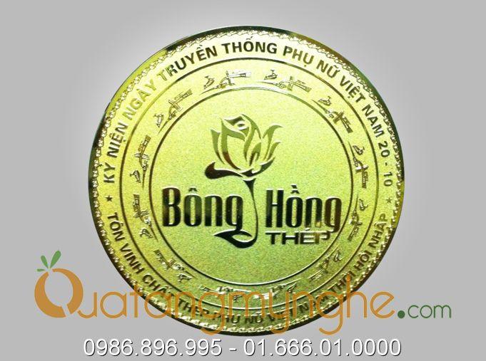 Sản xuất đĩa quà tặng hình logo công ty theo yêu cầu0