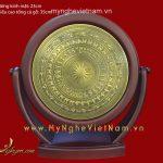 Biểu trưng mặt trống đồng xoay đk 30cm