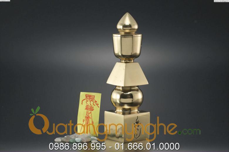 tháp ngũ hành bằng đồng cao 15cm 20cm