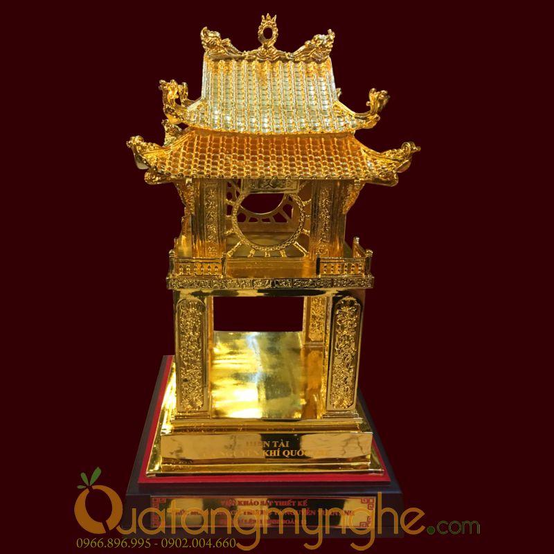 Biểu tượng khuê văn các mạ vàng làm quà tặng0