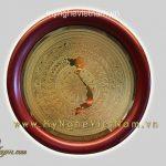 đĩa quà tặng mặt trống đồng bản đồ việt nam 16cm 18cm 23cm