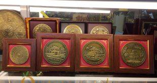 tranh quà tặng để bàn cảnh văn hóa Hà Nội Việt Nam